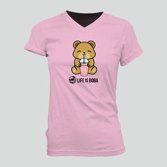 Boba Bear Womens Tee
