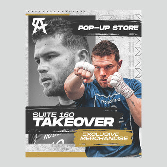 Canelo Pop Up Store Poster