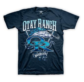 Otay Ranch Youth Football T-Shirt Design