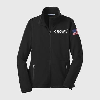 CROWN Women's Pique Fleece Jacket
