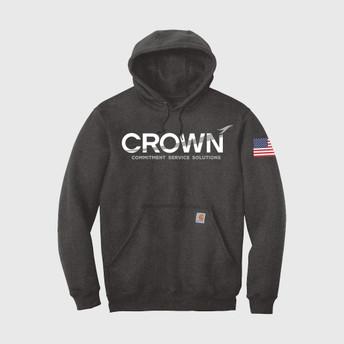 Crown Carhartt Hoodie