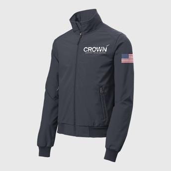 CROWN Men's Bomber Jacket