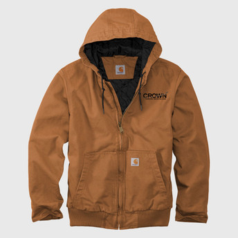 CROWN Men's Tall Washed Duck Jacket