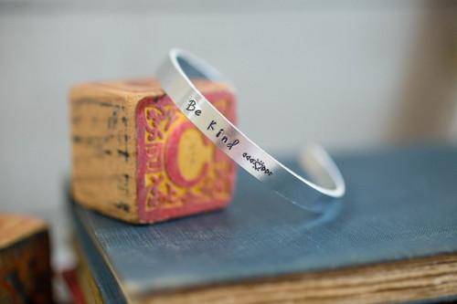 Be kind Cuff Bracelet