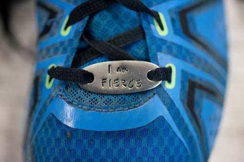 I am fierce Trainer tag/ Runner shoe Tag