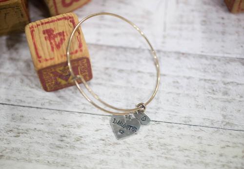 Daughter Bangle Bracelet
