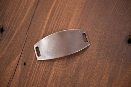 Antique Brass Rectangle Blank Bracelet