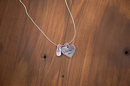 Blessed Heart Necklace
