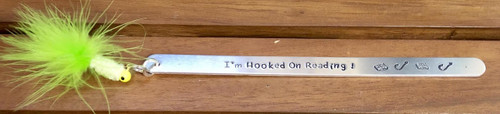 Hooked on Reading Bookmark