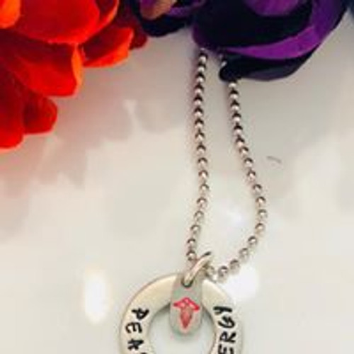 Medical Alert Ball Chain & Washer Necklace