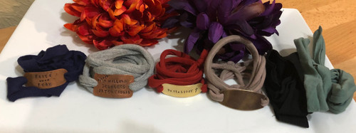 Be Willing, Selfless, Intentional Tshirt Missions Bracelet