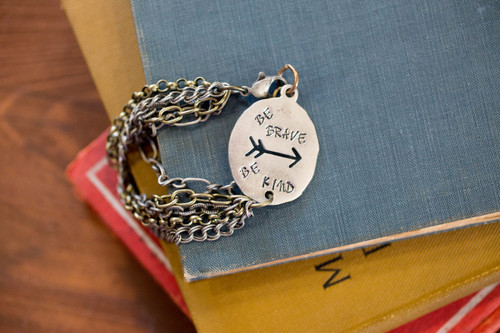 Be Brave. Be Kind. Bracelet