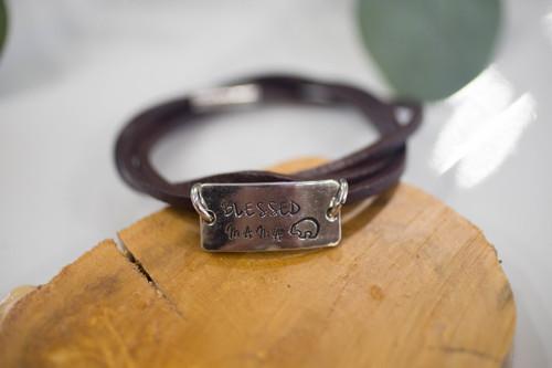 Blessed Mama Bear Bracelet
