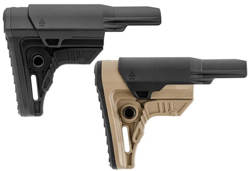 UTG PRO® AR15 Ops Ready S4 Mil-spec Stock Only, Black/FDE