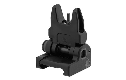 UTG® ACCU-SYNC® Spring-Loaded AR15 Flip-up Front Sight, Black