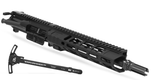 """10.5"""" .223 / 5.56 Complete Upper by Breek Arms w/ WARHAMMER Mod2 Charging Handle"""