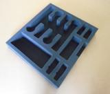 Custom 2-RU Foam Insert for 4-Pack Shure QLXD1 Bodypack and 4-Pack Shure QLXD2/SM58 Handheld Microphone