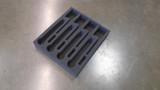 Custom 2-RU Foam Insert for 4-Pack Shure ULXD Wireless Microphone Kit