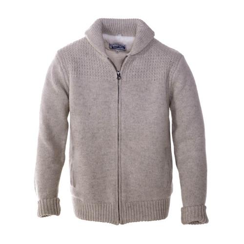 Wool/Nylon Sweater Jacket