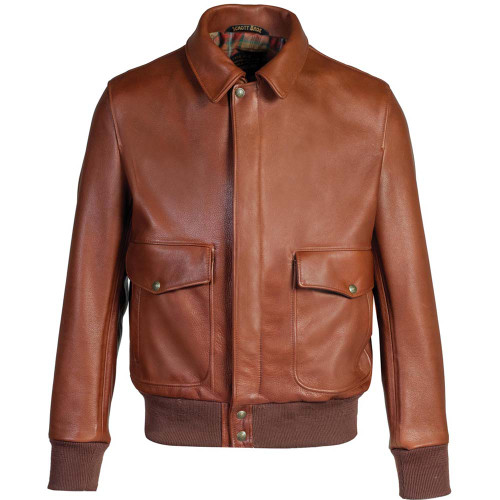 Lightweight Cowhide Flight Jacket