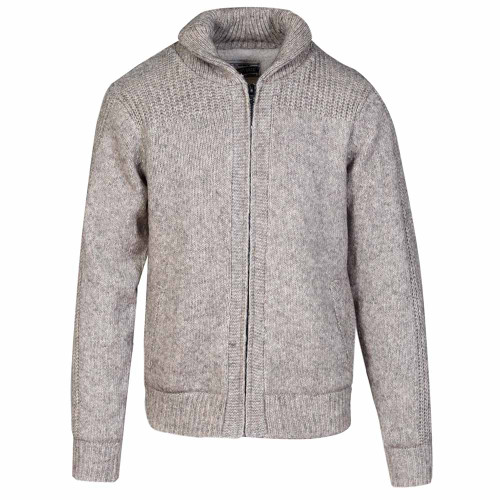 Fleece Lined Sweater Jacket