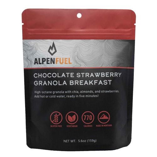 Chocolate Strawberry Granola