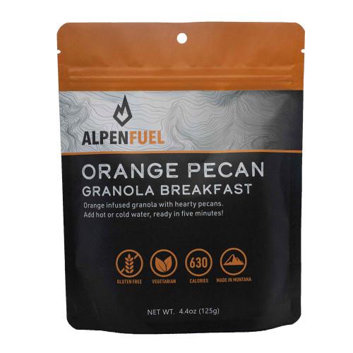 Orange Pecan Granola