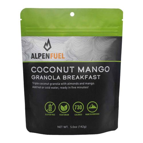 Coconut Mango Granola