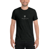 HüMEN Logo Short Sleeve Tri-blend T-shirt