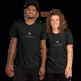 HüMEN Logo Short Sleeve Tri-blend T-shirt