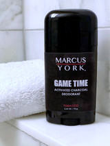 Game Time Activated Charcoal Deoderant - Tobacco