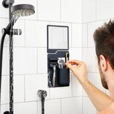 The Harvey & Oliver Set | Toothbrush & Razor Holder / Shower Mirror