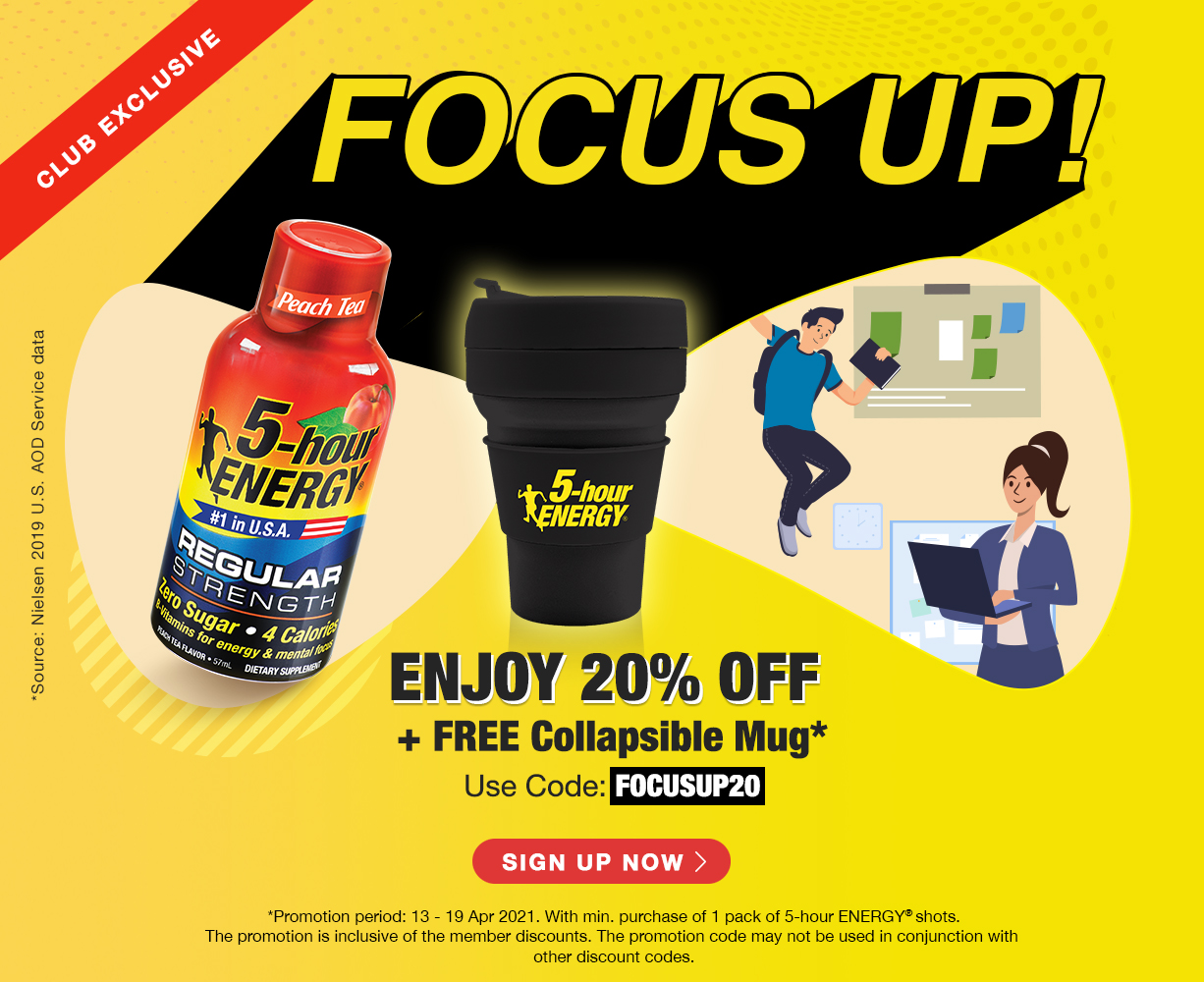 Energy drink online become member