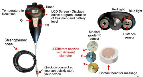 Equine  Subzero Cryotherapy  Device