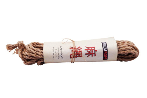 Osaka jute shibari rope sets, 5mm x 8m
