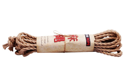 Osaka jute shibari rope sets, 6mm x 8m