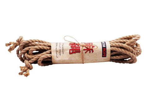 Geotwist Hempex synthetic hemp rope sets, 8mm x 10m