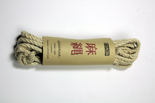 Ichiban Light jute rope 6mm, 8m sets