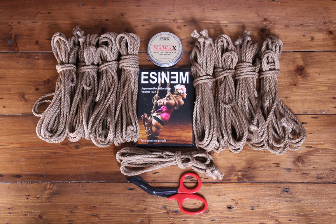 Jute shibari rope kits