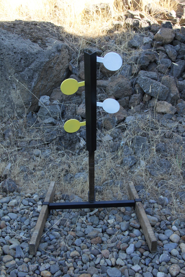 4 Paddle Rimfire Dueling Tree Set (Base Included)
