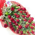 40 roses arm bouquet