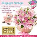 Pretty in Pink Stargazer Package