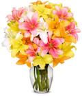 Oriental Lilies Grand Bouquet