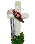 XL Sympathy Stand Funeral Cross