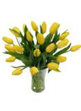 15 Yellow Tulips Bouquet