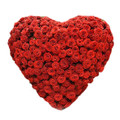 144 Roses Heart Bouquet