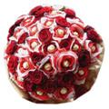 24 Roses & 24 Ferrero Bouquet