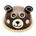 Teddy Chocolate Cake
