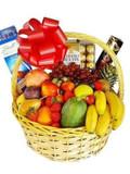 Deluxe Fruit & Chocolates Basket