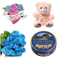 Blue Roses Royal Package